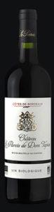 Côtes de Bordeaux Bio - Château le Parvis de Dom Tapiau à Camblanes et Meynac