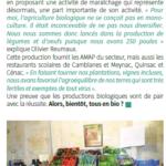 Bientôt tous au bio ? - Magazine de la commune de Camblanes et Meynac - Mars 2019